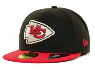 New Era NFL Black Team 59FIFTY Cap Fitted Hats