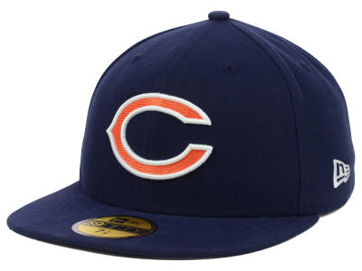 Chicago Bears NFL Official On Field 59FIFTY Cap Hats