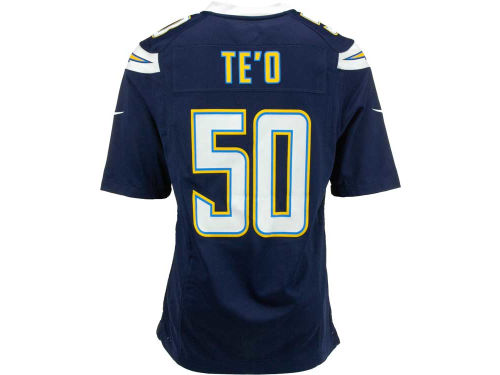 San Diego Chargers Manti Te'o Nike NFL Men's Game Jersey