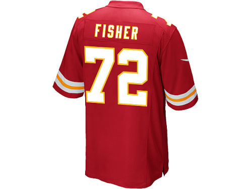 Kansas City Chiefs Eric Fisher Nike NFL Men's Game Jersey