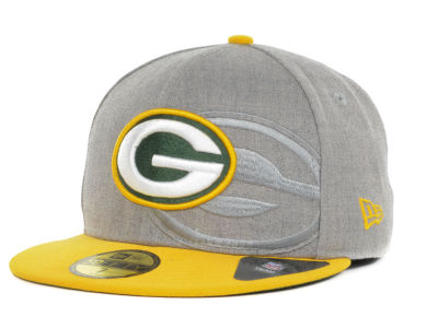 Green Bay Packers NFL Team Screening 59FIFTY Cap Hats