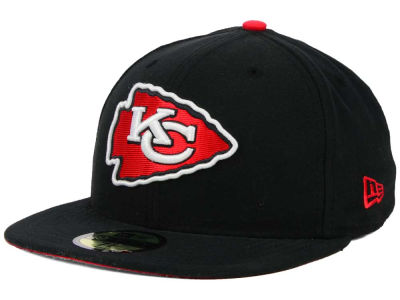 Kansas City Chiefs NFL Official On Field 59FIFTY Cap Hats