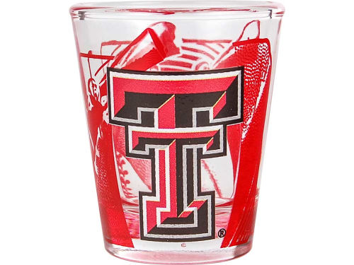 Texas Tech Red Raiders Hunter Manufacturing 3D Wrap Color Collector Glass