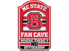 North Carolina State Wolfpack Wincraft 11x17 Wood Sign Flags & Banners