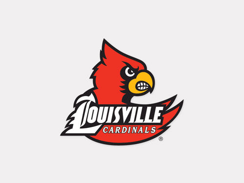 Louisville Cardinals Wincraft 4x4 Die Cut Decal Color