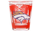 Denver Broncos Hunter Manufacturing 3D Wrap Color Collector Glass Collectibles