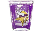 Minnesota Vikings Hunter Manufacturing 3D Wrap Color Collector Glass Collectibles