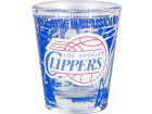 Los Angeles Clippers Hunter Manufacturing 3D Wrap Color Collector Glass Collectibles