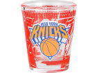 New York Knicks Hunter Manufacturing 3D Wrap Color Collector Glass Collectibles