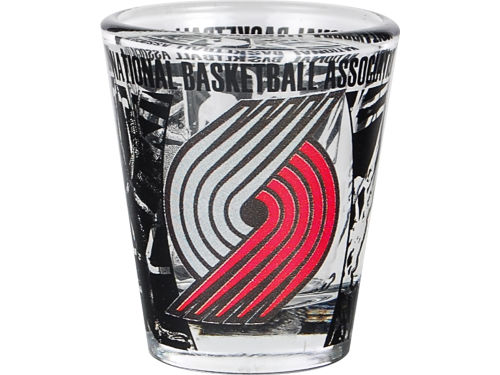 Portland Trail Blazers Hunter Manufacturing 3D Wrap Color Collector Glass