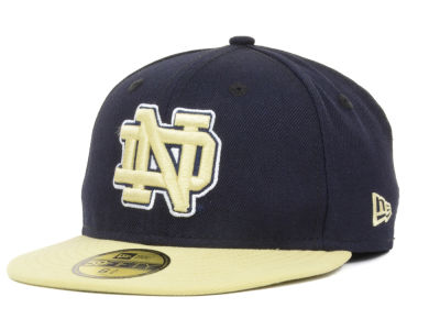 Notre Dame Fighting Irish NCAA Youth 2 Tone 59FIFTY Cap Hats