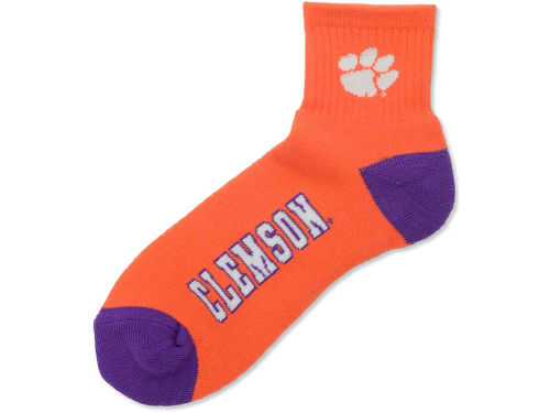 Clemson Tigers For Bare Feet Ankle TC 501 Socks