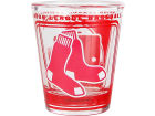 Boston Red Sox Hunter Manufacturing 3D Wrap Color Collector Glass Collectibles