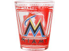 Miami Marlins Hunter Manufacturing 3D Wrap Color Collector Glass Collectibles
