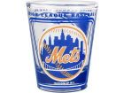 New York Mets Hunter Manufacturing 3D Wrap Color Collector Glass Collectibles
