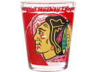 Chicago Blackhawks Hunter Manufacturing 3D Wrap Color Collector Glass Collectibles