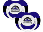 Colorado Rockies Pacifier 2 pack Newborn & Infant