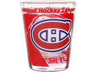 Montreal Canadiens Hunter Manufacturing 3D Wrap Color Collector Glass Collectibles