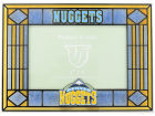 Denver Nuggets Art Glass Picture Frame Bed & Bath