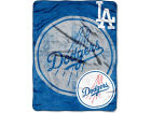 Los Angeles Dodgers Northwest Company Micro Raschel 46x60 Triple Play Bed & Bath