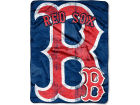 Boston Red Sox Northwest Company Micro Raschel 46x60 Triple Play Bed & Bath