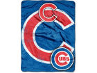 Chicago Cubs Northwest Company Micro Raschel 46x60 Triple Play Bed & Bath