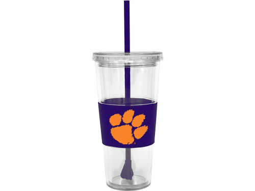 Clemson Tigers Boelter Brands 22oz. Tumbler with Straw