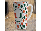 Miami Hurricanes 16oz Latte Mug Kitchen & Bar