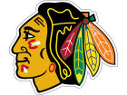 Chicago Blackhawks 8in Car Magnet Auto Accessories