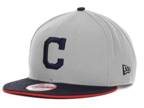 Cleveland Indians New Era MLB Double Flip 9FIFTY Snapback Cap Hats
