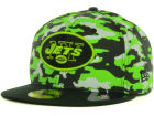 New York Jets New Era NFL Cover 2 Tone 59FIFTY Cap Fitted Hats