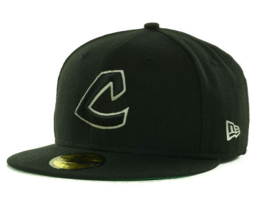 Cleveland Indians MLB Black on Color 59FIFTY Cap Hats