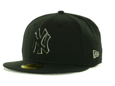 New York Yankees MLB Black on Color 59FIFTY Cap Hats