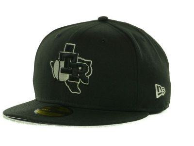 Texas Rangers MLB Black on Color 59FIFTY Cap Hats
