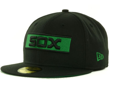 Chicago White Sox MLB Black on Color 59FIFTY Cap Hats