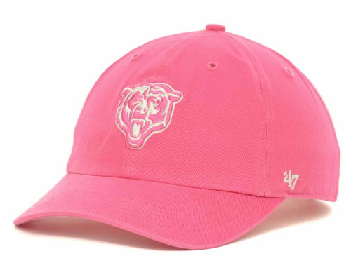Chicago Bears '47 NFL Womens Berry Clean Up Cap Hats