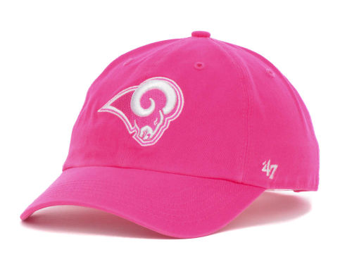 Los Angeles Rams '47 NFL Womens Berry Clean Up Cap Hats