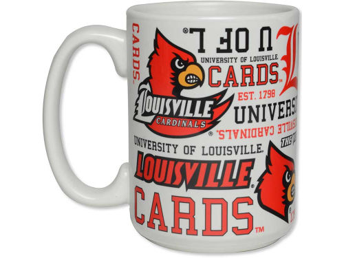 Louisville Cardinals Boelter Brands 15oz. Spirit Mug