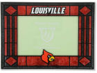 Louisville Cardinals Art Glass Picture Frame Bed & Bath