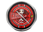 Louisville Cardinals Chrome Clock Bed & Bath