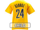 Indiana Pacers Paul George Profile NBA Kids Name And Number T-Shirt T-Shirts