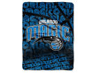 Orlando Magic The Northwest Company Micro Raschel Throw 46x60