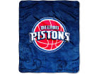 Detroit Pistons The Northwest Company Micro Raschel Throw 46x60