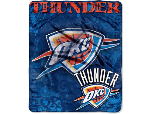 Oklahoma City Thunder The Northwest Company 50x60in Plush Throw Drop Down