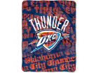 Oklahoma City Thunder The Northwest Company Micro Raschel Throw 46x60