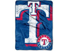 Texas Rangers The Northwest Company Micro Raschel 46x60 Triple Play Bed & Bath