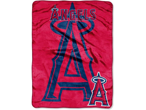 Los Angeles Angels of Anaheim The Northwest Company Micro Raschel 46x60 Triple Play