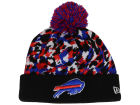 Buffalo Bills New Era NFL Sketch'd Print Knit Hats