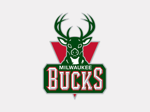 Milwaukee Bucks Wincraft 4x4 Die Cut Decal Color