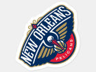 New Orleans Pelicans Wincraft 4x4 Die Cut Decal Color Bumper Stickers & Decals